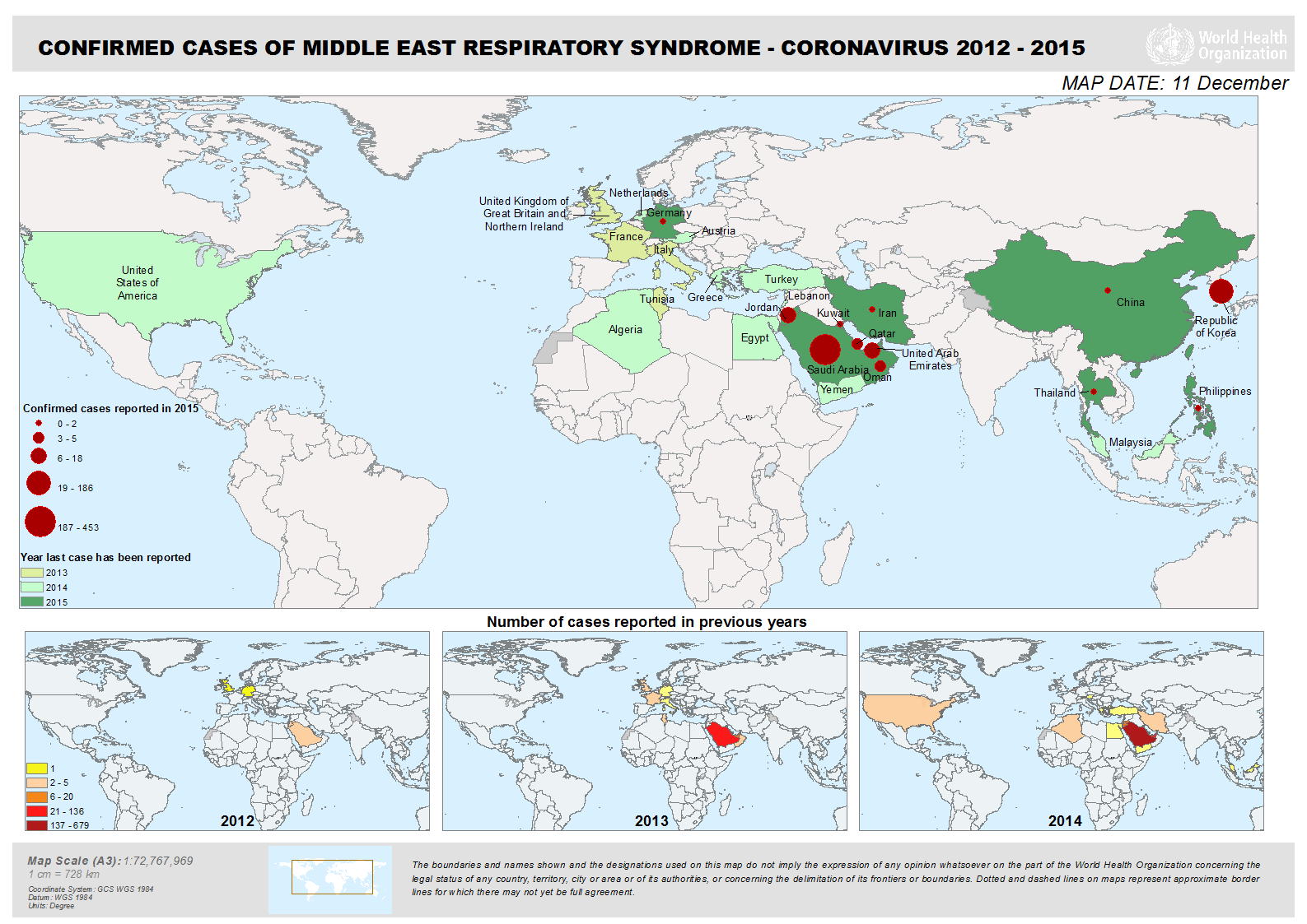 Syndrome respiratoire du Moyen-Orient (MERS)